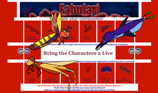Fabulari Characters Music Composition